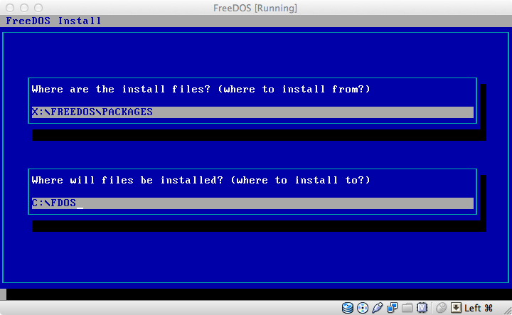 How To: Setup FreeDOS in VirtualBox | Tech@Play
